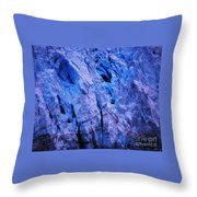 Margerie Glacier 4 Throw Pillow