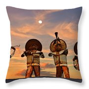 Mariachi Band Throw Pillow