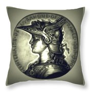 Limited Edition  Marianne Misty Night Throw Pillow