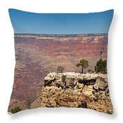 Maricopa Point Grand Canyon National Park Throw Pillow