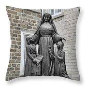 Marie De L Incarnation Throw Pillow