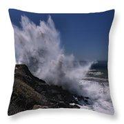 Maries Power Throw Pillow