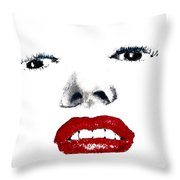 Marilyn II Throw Pillow by David Patterson