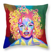 Marilyn  Throw Pillow