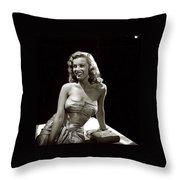 Marilyn Monroe Photo By J.r. Eyerman 1947-2014 Throw Pillow