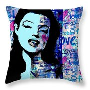 Marilyn Monroe. Loved Lost . Loved Again 2 Throw Pillow
