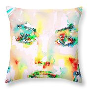 Marilyn Monroe Portrait.5 Throw Pillow