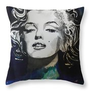 Marilyn Monroe..2 Throw Pillow by Chrisann Ellis