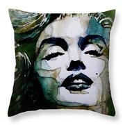Marilyn No10 Throw Pillow