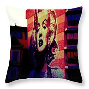 Marilyn Remembered Throw Pillow