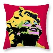 Marilyn Three Throw Pillow