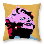 Marilyn Two Throw Pillow