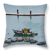 Marina Do Brazil Throw Pillow
