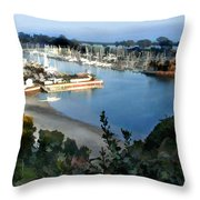 Marina Overlook Throw Pillow