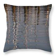 Marina Reflection 3 Throw Pillow