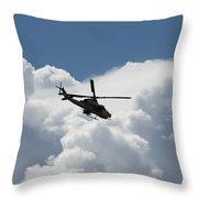 Marine Cobra Throw Pillow