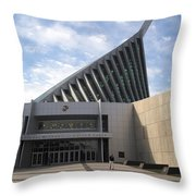 National Museum Of The Marine Corps In Triangle Virginia Throw Pillow