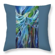 Marine Spirit Series Throw Pillow by Chris Keenan