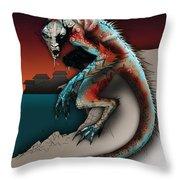Marine Troll Throw Pillow