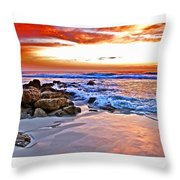 Marineland Sunrise Throw Pillow