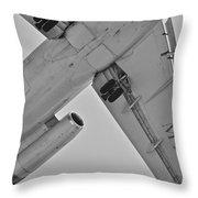 Marines In Flight Throw Pillow