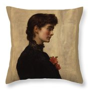 Marion Collier Throw Pillow