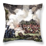 Marion: Parkers Ferry, 1781 Throw Pillow