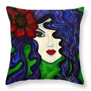 Mariposa Fairy Queen Throw Pillow