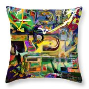 Marital Harmony 59 Throw Pillow