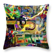 Marital Harmony 61 Throw Pillow
