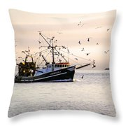 Maritime Heritage 2 Throw Pillow