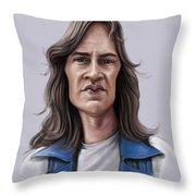 Mark Evans Throw Pillow