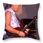 The Heart Of Grand Funk Railroad Throw Pillow
