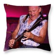 Mark Rocking In Lewiston 2 Throw Pillow