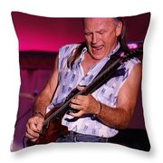 Mark Rocking In Lewiston 2009 Throw Pillow