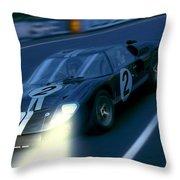 Mark II At Night Throw Pillow
