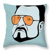 Mark It Zero Poster 1 Throw Pillow by Naxart Studio