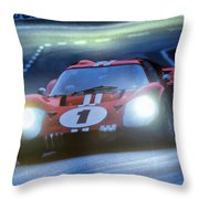 Mark 4 At Night Throw Pillow