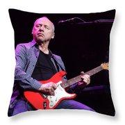 Dire Straits - Mark Knopfler Throw Pillow
