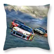 Mark Martin Throw Pillow