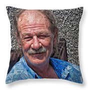 Mark On A Holiday Weekend Throw Pillow