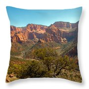 Markaqunt  Mesa In Kolob Throw Pillow