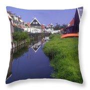 Marken Canal Throw Pillow