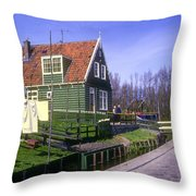Marken Village Architecture Throw Pillow