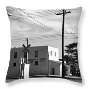 Market And Deli Throw Pillow