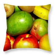 Market Day 2 Throw Pillow