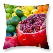 Market Fresh Throw Pillow