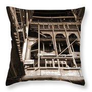 Market St. Power Plant #1 Throw Pillow