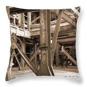 Market St. Power Plant #2 Throw Pillow