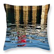 Marking The Tides Throw Pillow